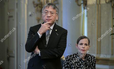 Kazuo Ishiguro, Nobel laureate in literature 2017