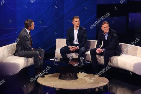 Markus Lanz, Matthias Ginter and Hans-Joachim Watzke