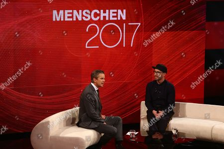 Markus Lanz and Mark Forster