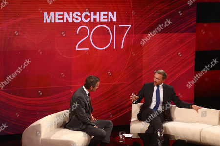 Markus Lanz and Christian Lindner