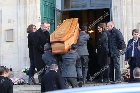 Editorial picture of France Nicolas Sarkozy's mother, Andree, funeral ceremony, Paris, France - 18 Dec 2017
