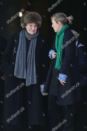 Carla Bruni's mother and sister : Marisa Borini and Valeria Bruni Tedeschi