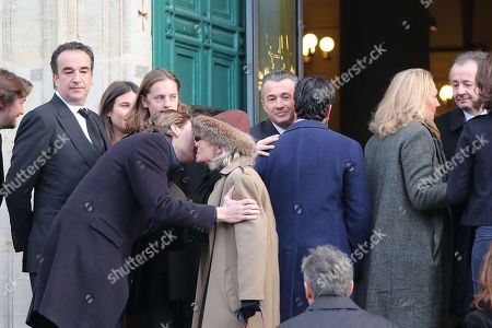 Stock Photo of Olivier, Jean, Pierre and Guillaume Sarkozy