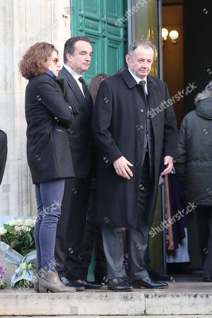 Olivier and Guillaume Sarkozy