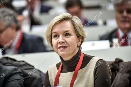 Regional concelor and Les Republicains vice-president Virginie Calmels during the Nouvelle Aquitaine council in Bordeaux.