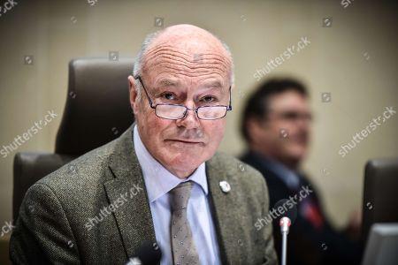 Nouvelle Aquitaine president Alain Rousset during the Nouvelle Aquitaine council in Bordeaux.