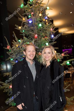 Thure Lindhardt and Sofia Helin