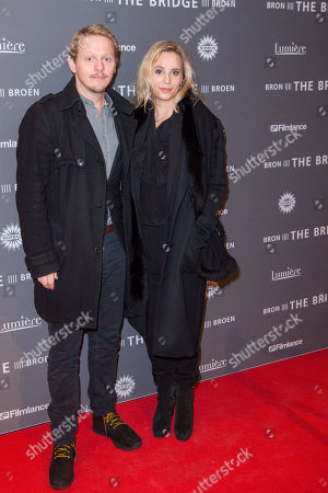 Editorial image of 'The Bridge' Season 4 premiere, Amsterdam. Netherlands - 18 Dec 2017