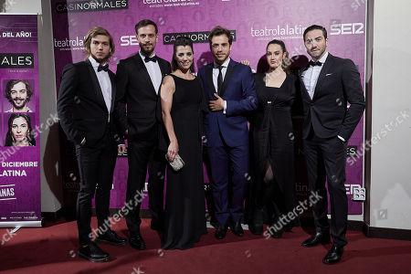 Stock Image of Franco Masini, Martin Ruiz, Laura Conforte, Fernando Dente, Manuela del Campo and Mariano Chiesa