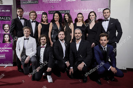Editorial picture of 'Casi Normales' play opening night, Arrivals, Madrid, Spain - 18 Dec 2017