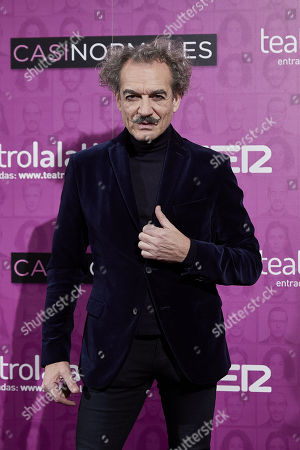 Editorial image of 'Casi Normales' play opening night, Arrivals, Madrid, Spain - 18 Dec 2017