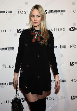 """Elizabeth Kurpis attends a special screening of """"Hostiles"""" at Metrograph, in New York"""