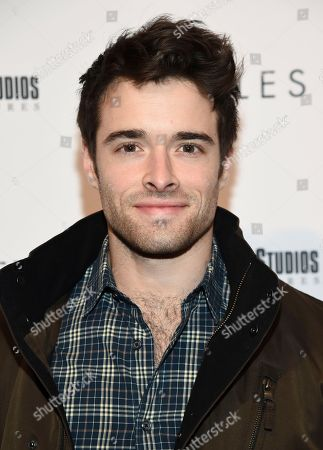 "Actor Corey Cott attends a special screening of ""Hostiles"" at Metrograph, in New York"