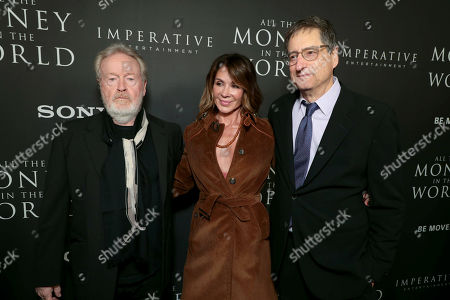 Ridley Scott, Director/Producer, Giannina Facio and Tom Rothman, Chairman, Sony Pictures Motion Picture Group,