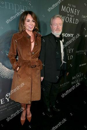 Giannina Facio and Ridley Scott, Director/Producer,
