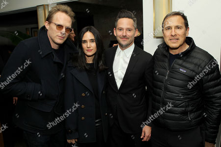 Jennifer Connelly, Paul Bettany, Scott Cooper (Director), David O. Russell