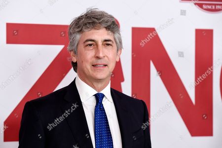 "Alexander Payne, director/co-writer of ""Downsizing,"" poses at a special screening of the film at the Regency Village Theatre, in Los Angeles"