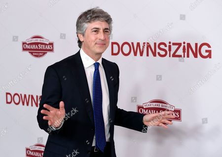 "Alexander Payne, the director and co-writer of ""Downsizing,"" arrives at a special screening of the film at the Regency Village Theatre, in Los Angeles"