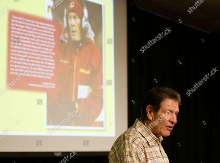 Editorial picture of Redskins Bugel Retires Football, Ashburn, USA - 13 Jan 2010