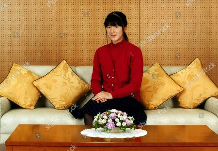 Released by Imperial Household Agency of Japan, Japanese Princess Aiko pose for a photo at her residence in Tokyo. Princess Aiko, daughter of Crown Prince Naruhito and Crown Princess Masako, celebrated her 14th birthday on Tuesday, Dec. 1