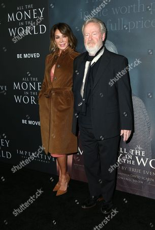 Ridley Scott, Giannina Facio