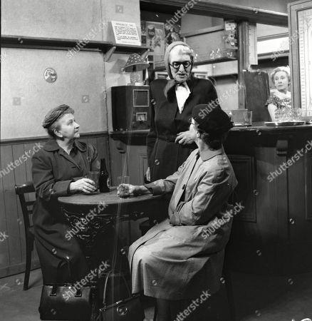 Margot Bryant (as Minnie Caldwell), Marion Dawson (as Matilda Grimshaw) and Lynne Carol (as Martha Longhurst) and Doris Speed (as Annie Walker)