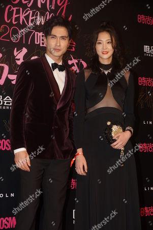 Stock Photo of Gao Weiguang and Rachel Hui Ruoqi