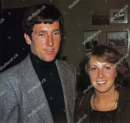 Sean KELLY (Ire) with his then future wife Linda GRANT (Ire) taken at their annual club dinner in 1977