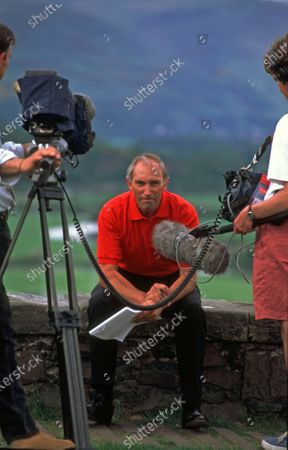 1998 Prudential Tour of Britain TV commentator Phil Liggett (GBR) MBE