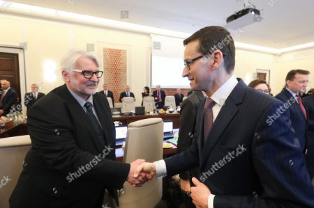 Mateusz Morawiecki and Witold Waszczykowski