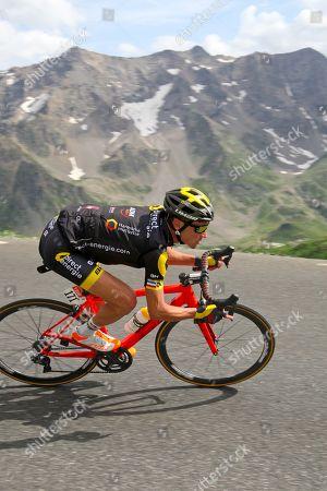 descent of Col Galibier 2,642m Thomas Voeckler (Fra)