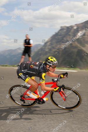 Stg17 La Mure - Galibier - Serre Chevalier 183kms Thomas Voeckler (Fra) top the Col Galibier at 2,642m retired from racing when he reached Paris.