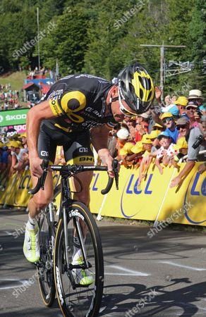 Tour de France 2017 Stg5 Vittel - La Planche des Belles Filles 160.5kms Thomas Voeckler (Fra)
