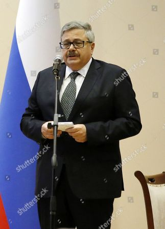 Editorial picture of 1st death anniversary of Russian ambassador to Turkey, Andrey Karlov, Ankara - 19 Dec 2017