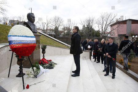 Editorial photo of 1st death anniversary of Russian ambassador to Turkey, Andrey Karlov, Ankara - 19 Dec 2017