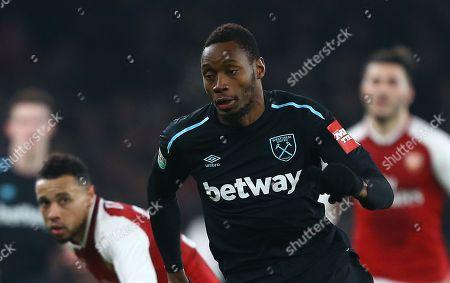 Diafra Sakho of West Ham United
