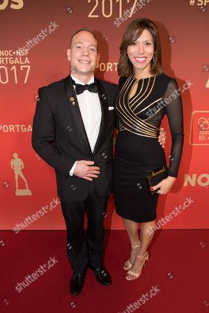 Yuri van Gelder and his partner Katarina Leal
