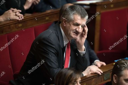 Deputy Jean Lassalle attends the weekly session of the questions to the government at French parliament.