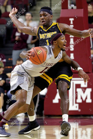 Editorial image of N Kentucky Texas A M Basketball, College Station, USA - 19 Dec 2017