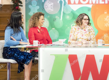 Christine Lampard, Nadia Sawalha, Sarah Millican