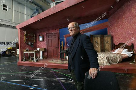Editorial picture of Composer, Nicholas Maw at a rehearsal studio in London, Britain - 17 Nov 2002