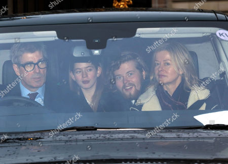 Stock Photo of Timothy Taylor, Estella Taylor, Cassius Taylor and Lady Helen Taylor