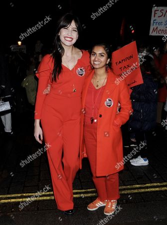 Daisy Lowe and Amika George