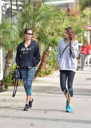 Teri Hatcher and daughter Emerson