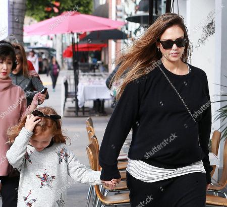 Jessica Alba and Haven Warren