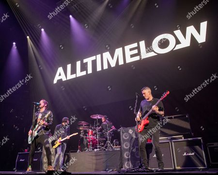 All Time Low - Alex Gaskarth, Jack Barakat, Rian Dawson and Zach Merrick