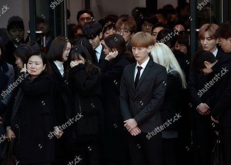 Editorial image of Singer's Death, Seoul, South Korea - 21 Dec 2017