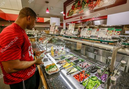 A variety of healthy foods are offered at the Lewis Training Table facility at the University of Nebraska, in Lincoln, Neb., where athletes can dine on specially made entrees such as mahi mahi steaks, bison meatloaf or chicken marsala. The hundreds of millions of dollars that have poured into the Power Five conferences, much of it from television rights fees, have enriched dozens of schools and allowed them to give their athletes the best of everything, right down to what they eat every day