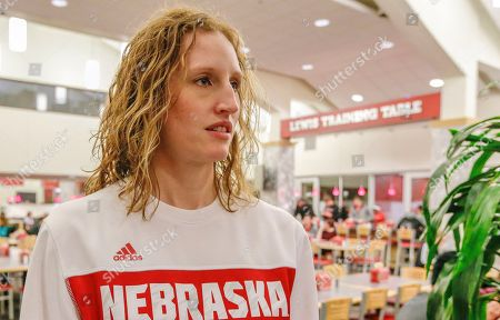 Lindsey Remmers, University of Nebraska's director of performance nutrition, is seen at the Lewis Training Table facility in Lincoln, Neb., where athletes can dine on specially made entrees such as mahi mahi steaks, bison meatloaf or chicken marsala. Nebraska will spend $3.3 million this year on athlete nutrition. In addition to the high-quality food at the training table and healthy snacks at fueling stations, the budget covers a director of food service, executive chef, registered sports dietitian and three assistants and more than a dozen other staffers