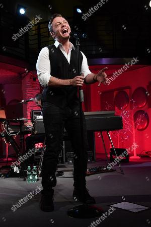 Italian singer Tiziano Ferro